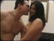 Dp fhg 602. Lusty couple getting fun in their bedroom