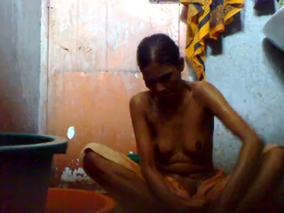 Dp fhg 860. Bangla bhabhi in toilet washing clothes naked and shower