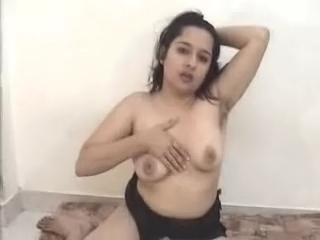 Dp fhg 324. Girl showing her lascivious breasts and pink pussy