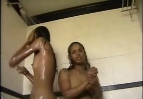 Dp fhg 445. Two girl enjoy naked shower